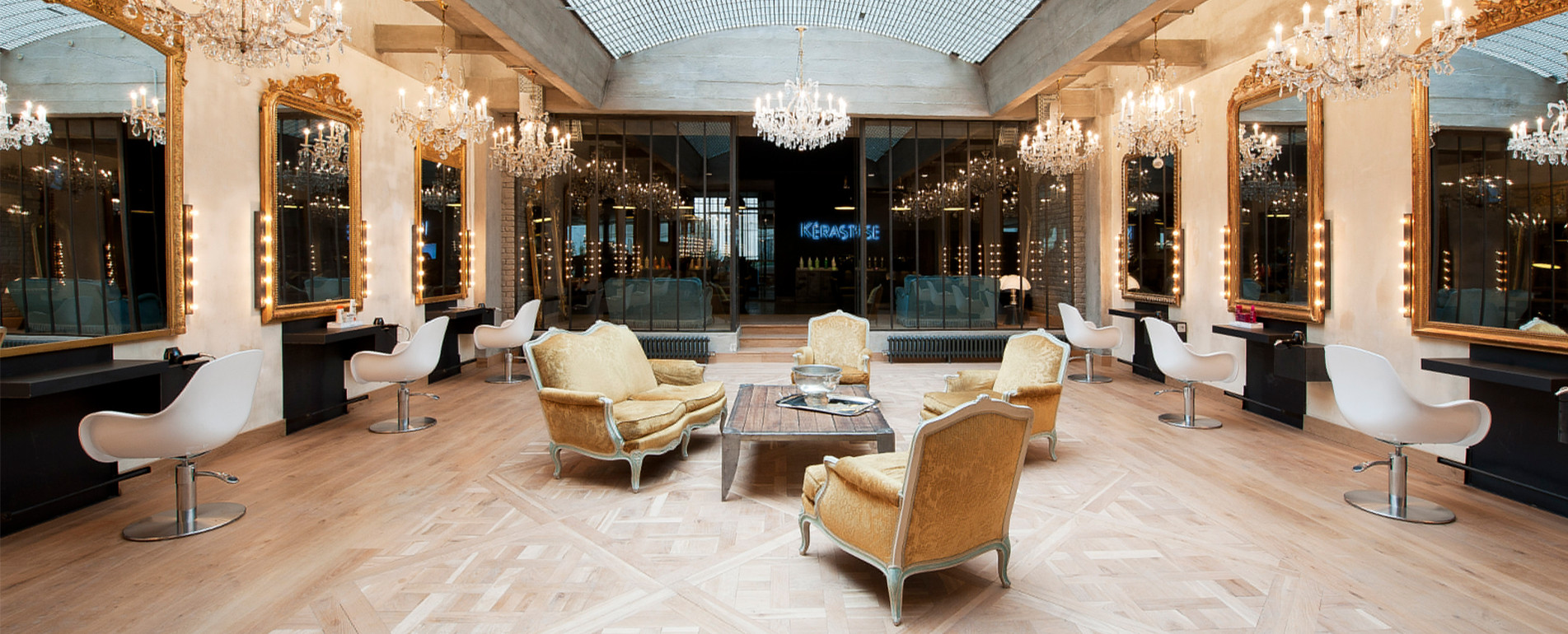Photo Mobilier Salon De Coiffure Luxe
